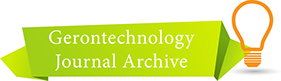 Gerontechnology Archive button